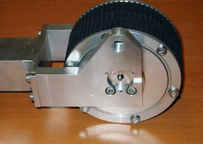 Lengte-meetunit t.b.v. elektrokabel productie