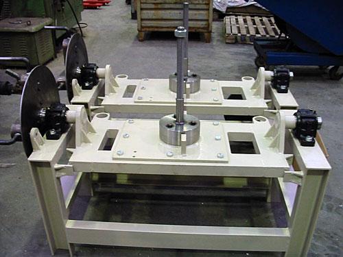 Tafel met rotatie-inrichting
